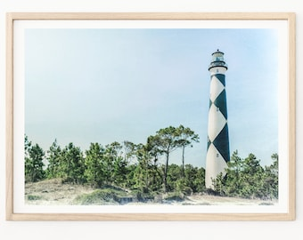 Outer Banks Lighthouse - Lighthouse Photography, Outer Banks, Lighthouses, Lighthouse Photos, Outer Banks Photography, Beach House Decor