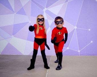 279292622 The Incredibles child costumes Dash / Violet