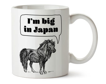 Shetland Pony Mug / Horse Coffee Cup / Horse Lover / Gift for Horse Lover / Horse Kitchen / Ceramic Horse Mug / Miniature Horse / Funny