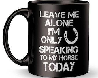Horse Mug, Horse Coffee, Horse Gift, Cool Horse, Funny Horse, Gift For Horse Lover, Gift for Riding Instructor, Gift for Horse, Horse Lover