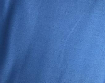 Blue Fabric - Riley Blake Blueberry Blue - Classic Blue Fabric - Bright Blue Fabric