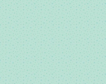 Mint Star Fabric - Riley Blake Fabric