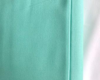Cool Mint Fabric - Riley Blake Caribbean Fabric - Mint Green Cotton