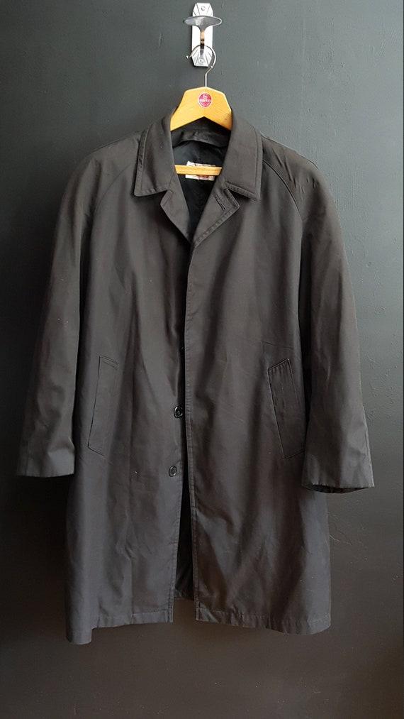 Vintage French mens raincoat