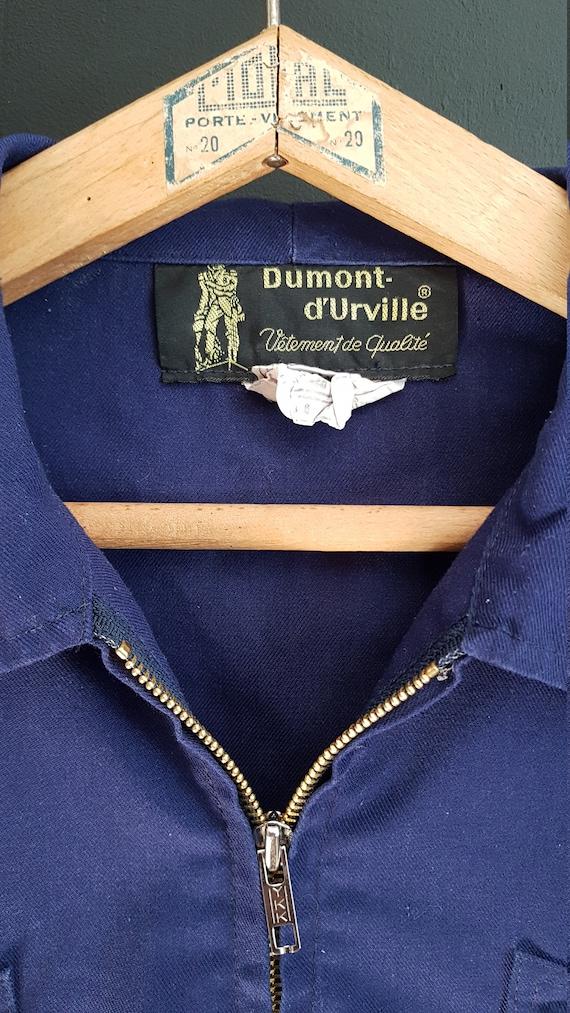 Vintage french Workwear jacket Dumont d'Urville - image 2