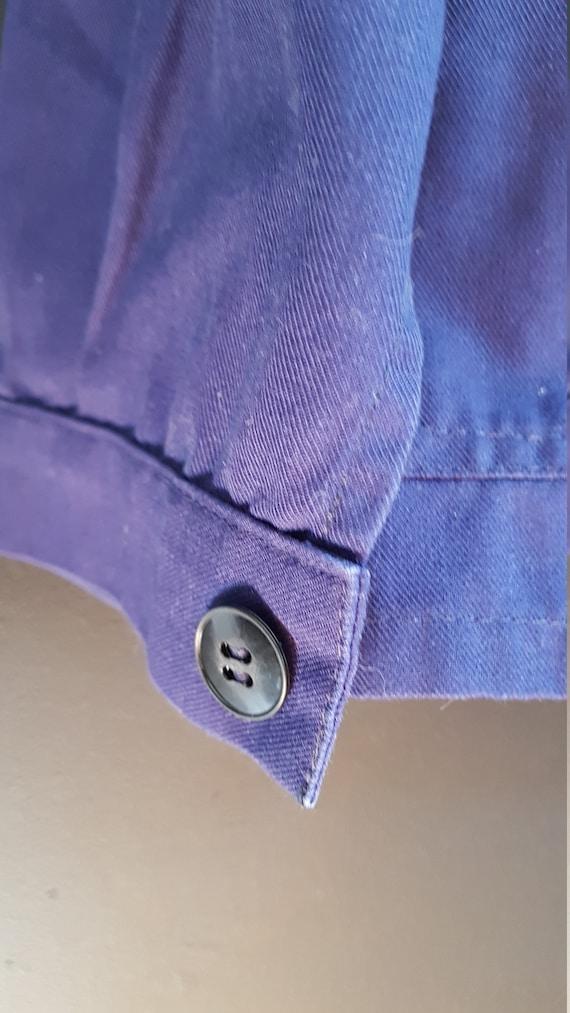 Vintage french Workwear jacket Dumont d'Urville - image 4