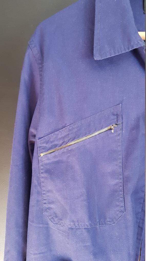 Vintage french Workwear jacket Dumont d'Urville - image 3