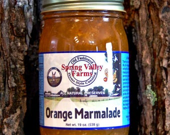 Spring Valley Farms Orange Marmalade       (19oz)