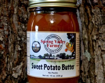 Spring Valley Farms Sweet Potato Butter