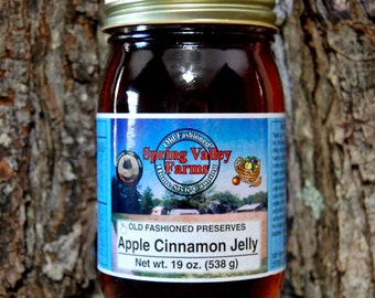 Spring Valley Farms Apple Cinnamon Jelly