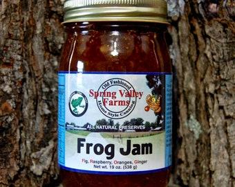 Spring Valley Farms Frog Jam (Fig,Raspberry,Oranges,Ginger)