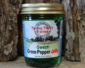 Spring Valley Farms Sweet Green Pepper Jelly