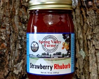 Spring Valley Farms Strawberry Rhubarb