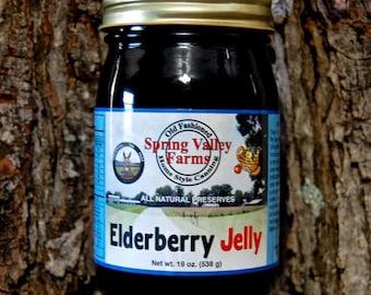 Spring Valley Farms Elderberry Jelly