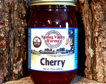 Spring Valley Farms Cherry Preserves Regular