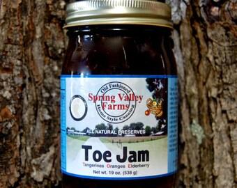 Spring Valley Farms Toe Jam (Tangerines,Oranges,Elderberry)
