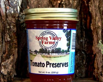 Spring Valley Farms Tomato Preserves        (9oz)