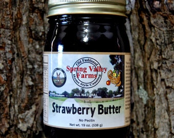 Spring Valley Farms Strawberry Butter