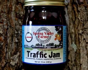 Spring Valley Farms Traffic Jam (Strawberries,Rhubarb,Raspberries,Blueberries)