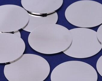 "Lot of 15 24 Gauge 1//2/"" Stainless Steel #4 Discs"