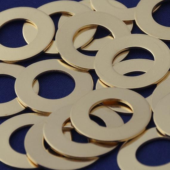 """20pcs 7//8/"""" tibetara aluminum round washer Stamping Blank 18 Gauges 10148701"""