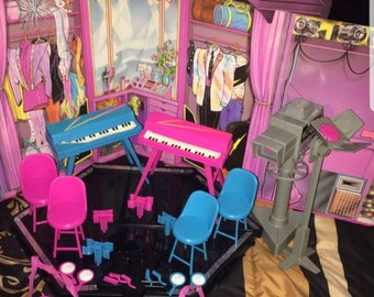 7ebe1fa373e BARBIE   the ROCKERS Playset STAGE