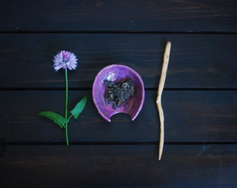 Chahe with wooden stick for tea ceremony