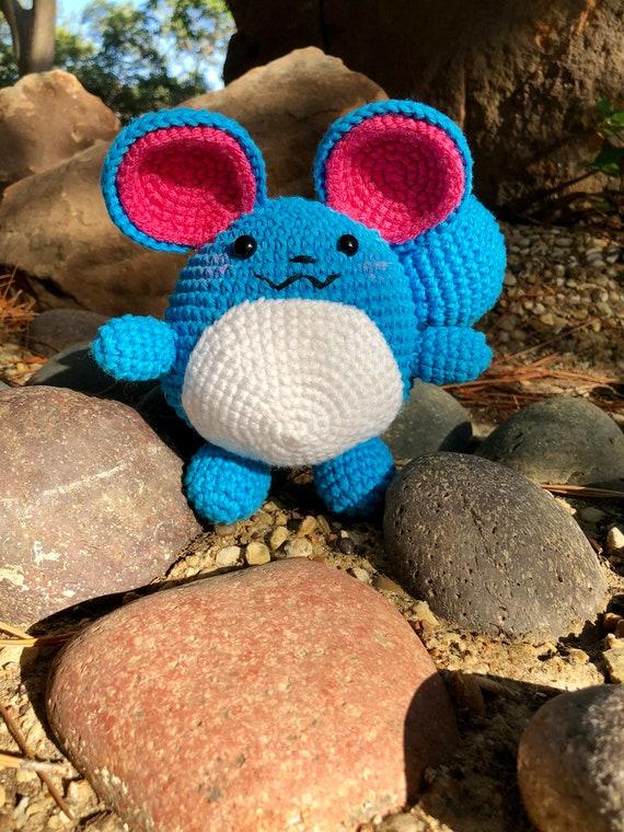 Crochet pattern Marill | Sabrina's Crochet | 760x570