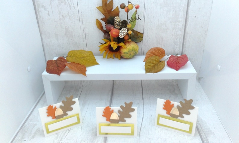Rustic wedding place cards Thanksgiving place cards Various quantities. AutumnFall wedding place cards Thanksgiving place settings