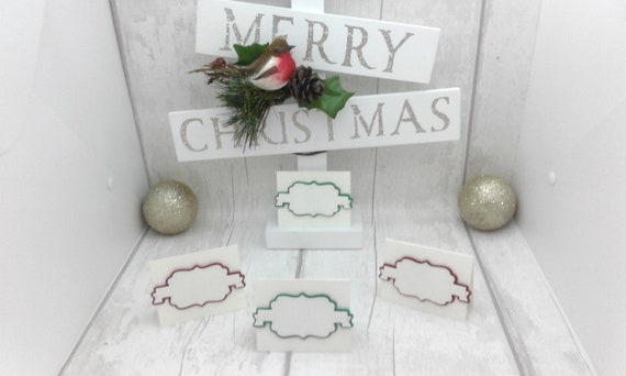 Christmas Place Cards. Wedding Place Cards. Thanksgiving Place | Etsy