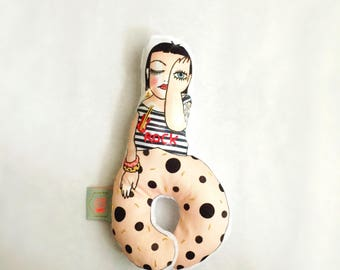 Beth Ditto embroidery collection doll