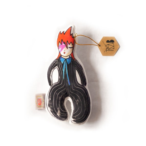 Baby rattle | Ziggy | David Bowie doll | Baby toy