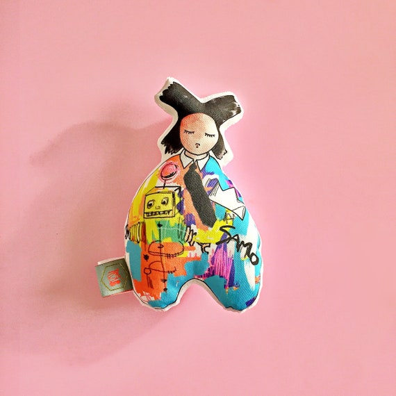 Baby rattle | Basquiat | baby toy