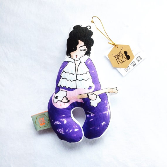 Baby rattle toy | Prince | Mr Purple Rain | baby gift