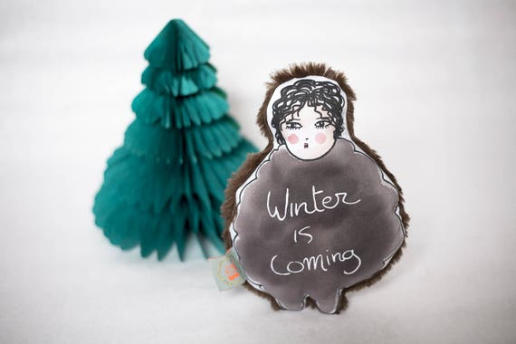 Baby rattle - winter is coming • John Snow toy