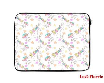 15 Inch Laptop Sleeve Unicorn Love