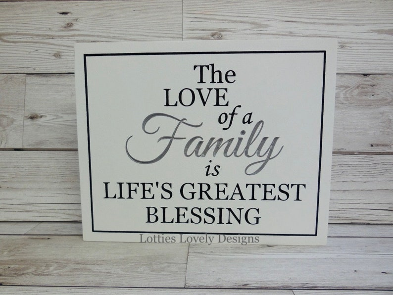The love of a family is life's greatest blessing image 0