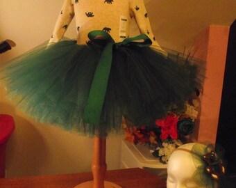 Teddy Bear, Tutu, 1st Birthday Tutu, Party Tutu, Tutu Outfit, Green Skirt, Tutu Set, Photo Prop Outfit, Tutu Tutu Baby,  Toddler Tutu