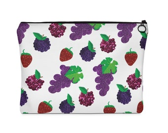 Berry Carry All Pouch  Flat