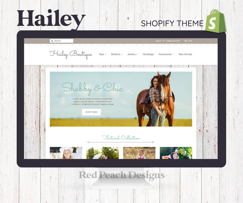 Hailey Feminine Shopify Theme  Responsive Shopify Theme image 1