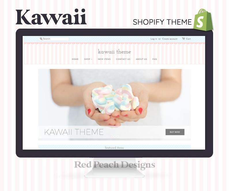 Kawaii Feminine Shopify Theme  Responsive Shopify Theme image 1