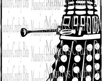 Digital file SVG Star Trek,Dalek Star Wars Mix up