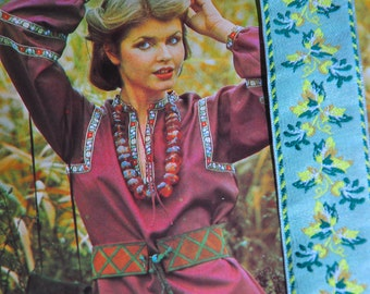 vintage 1980s embroideries