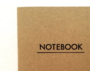 Notebook for notes