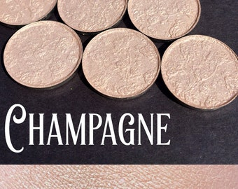 Champagne Pressed Highlight Eyeshadow - 26mm pan