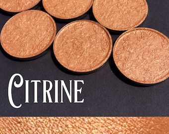 Citrine Pressed Eyeshadow - 26mm pan