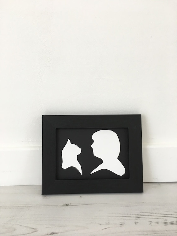 My Pet and Me Silhouette