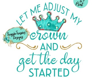 Adjust my crown | Etsy