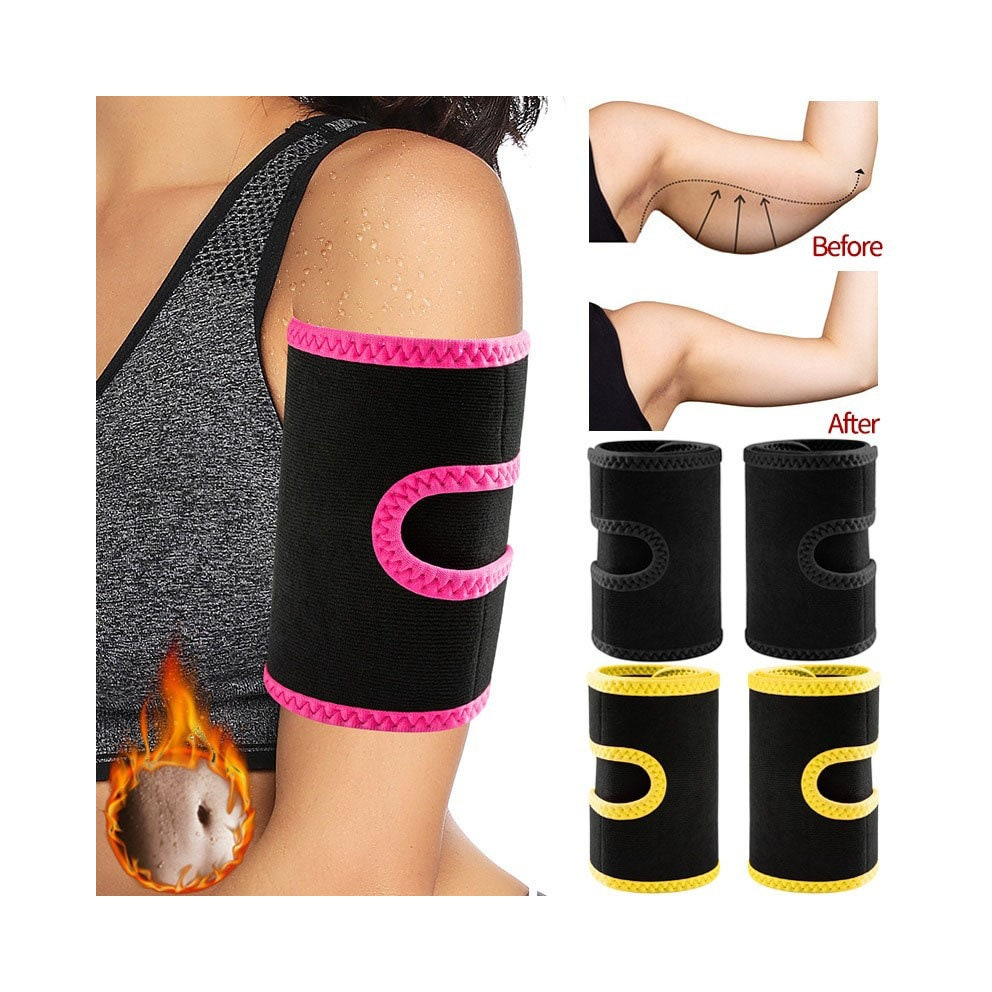 Arm Trimmers Sauna Sweat Band for Women Sauna Effect Arm Slimmer Anti Cellulite Arm Shapers Weight Loss Workout Body Shaper Women
