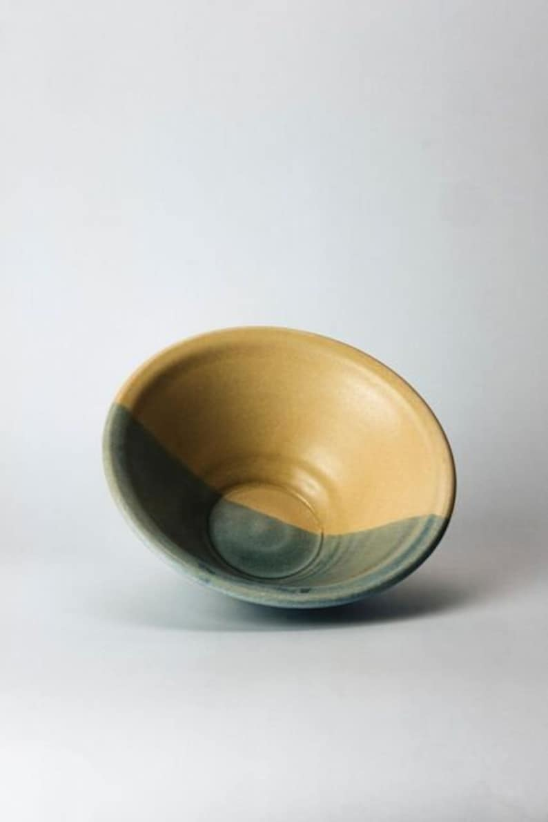 Wide Two Tone Bowl